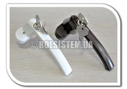 Ручка с ключом для пластиковых окон