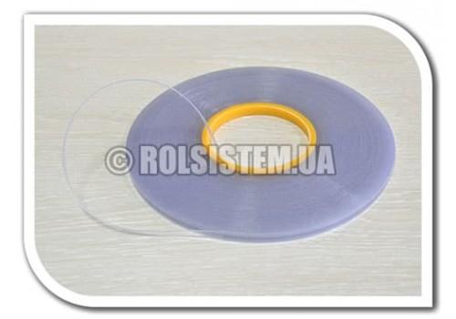 Лента пластиковая 7 мм с клейкой основой