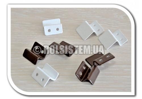 Металлический крепеж для москитной сетки Z-образный