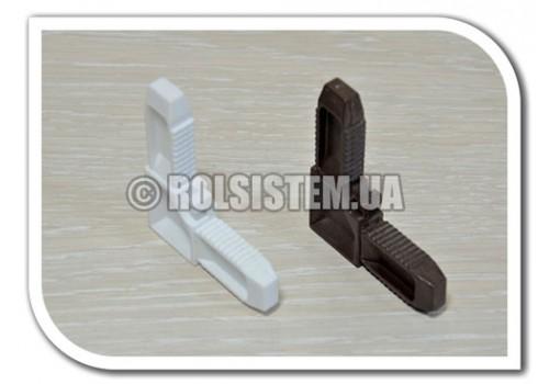 Уголок для москитной  сетки 10*20 мм