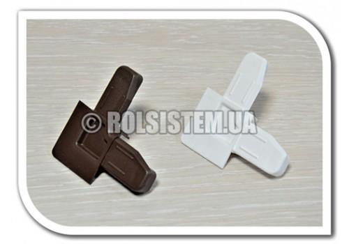 Уголок для москитной  сетки 11*32 мм