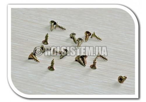 Шуруп универсальный желтый 10 мм